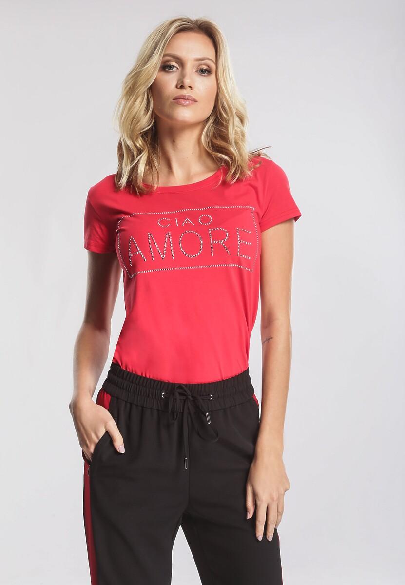 Czerwony T-shirt Mega Factor