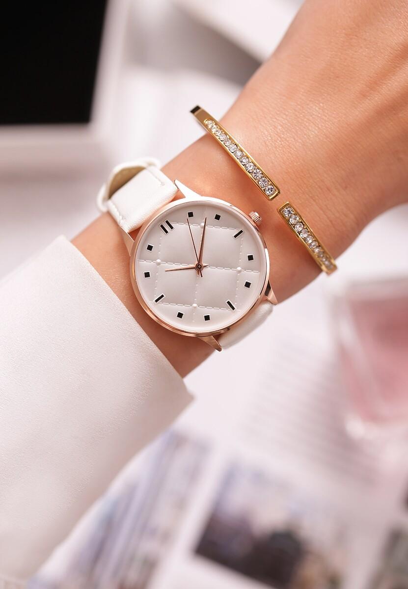 Biały Zegarek Look Like