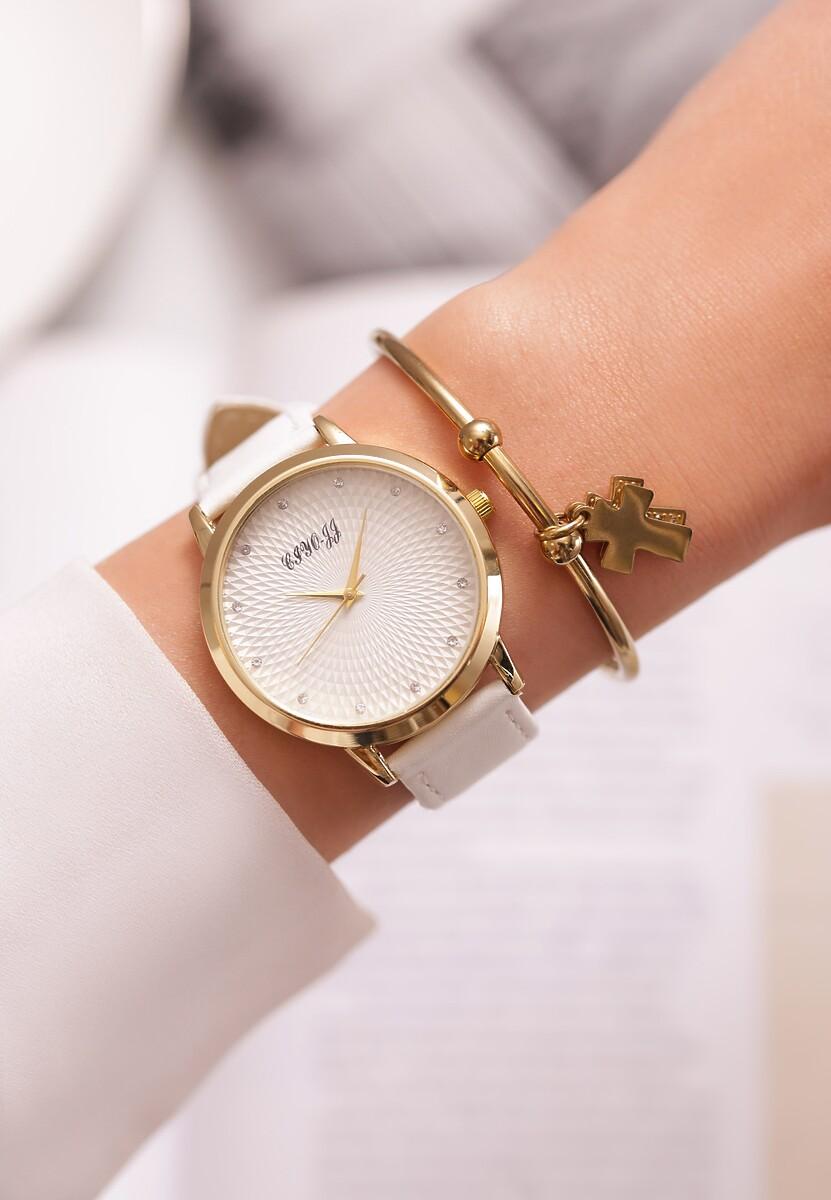 Biały Zegarek As If