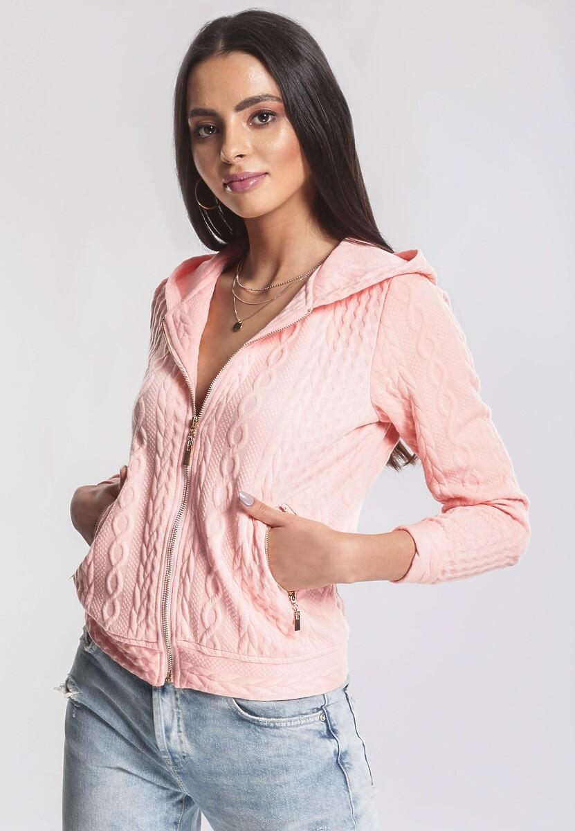 Różowa Bluza Intangible