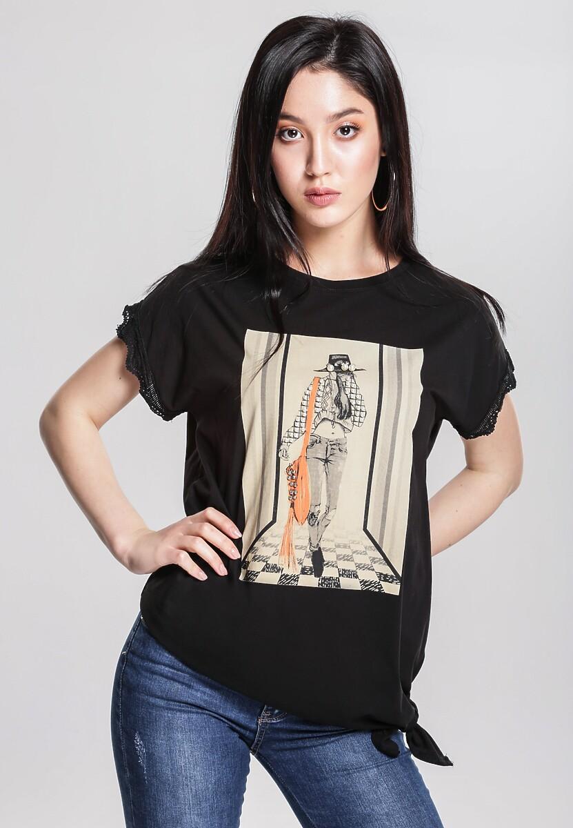 Czarny T-shirt Unquestionable