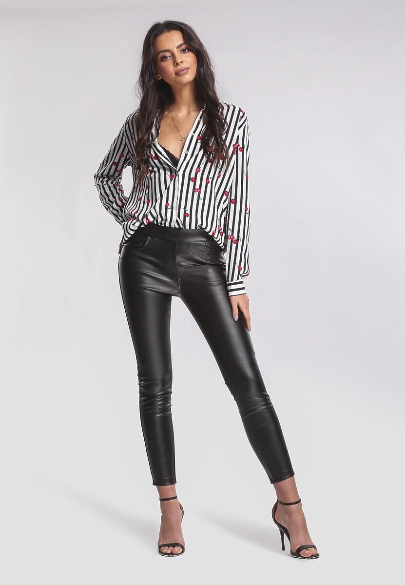 Czarne Spodnie Emit