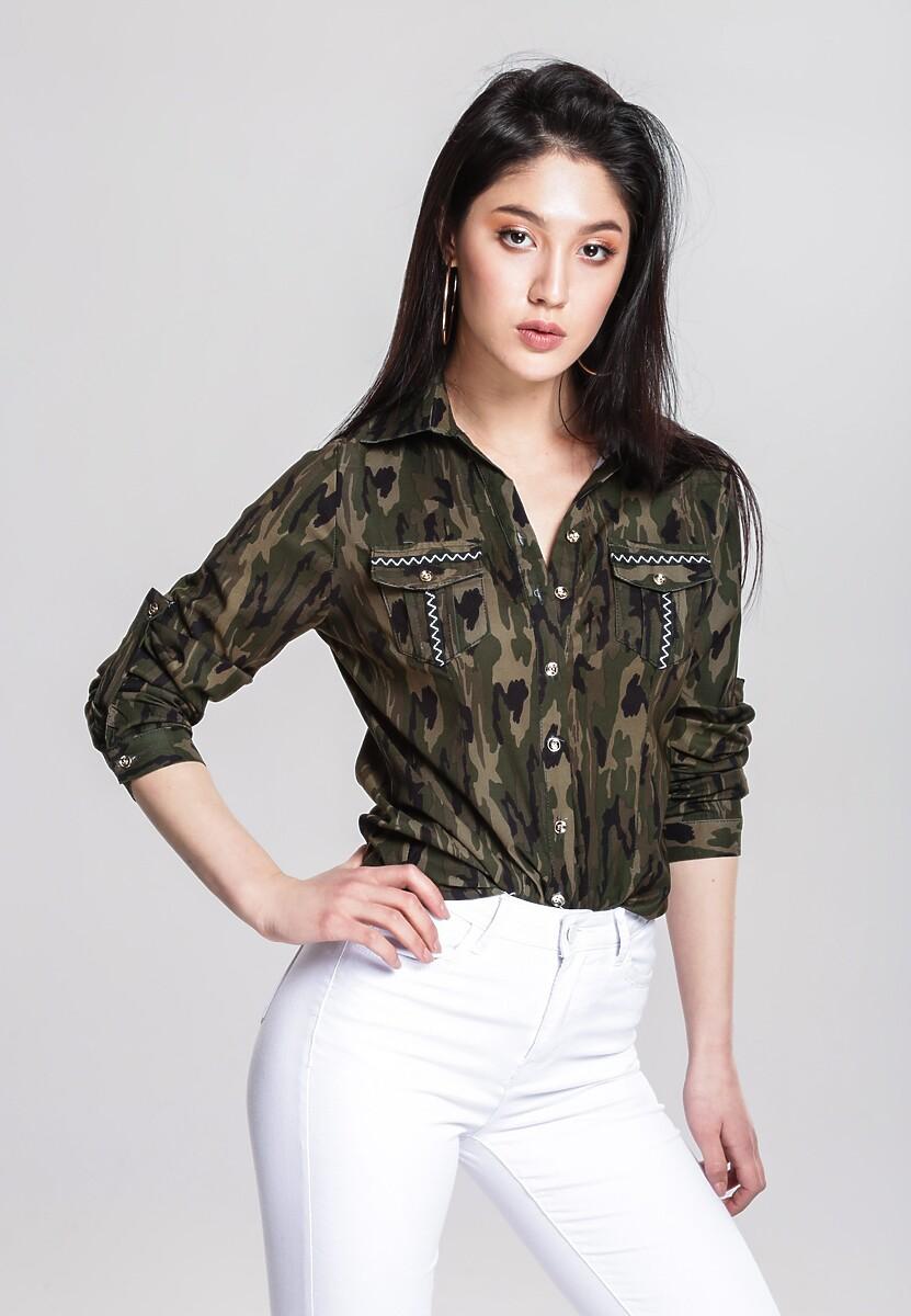 Zielona Koszula Moxie