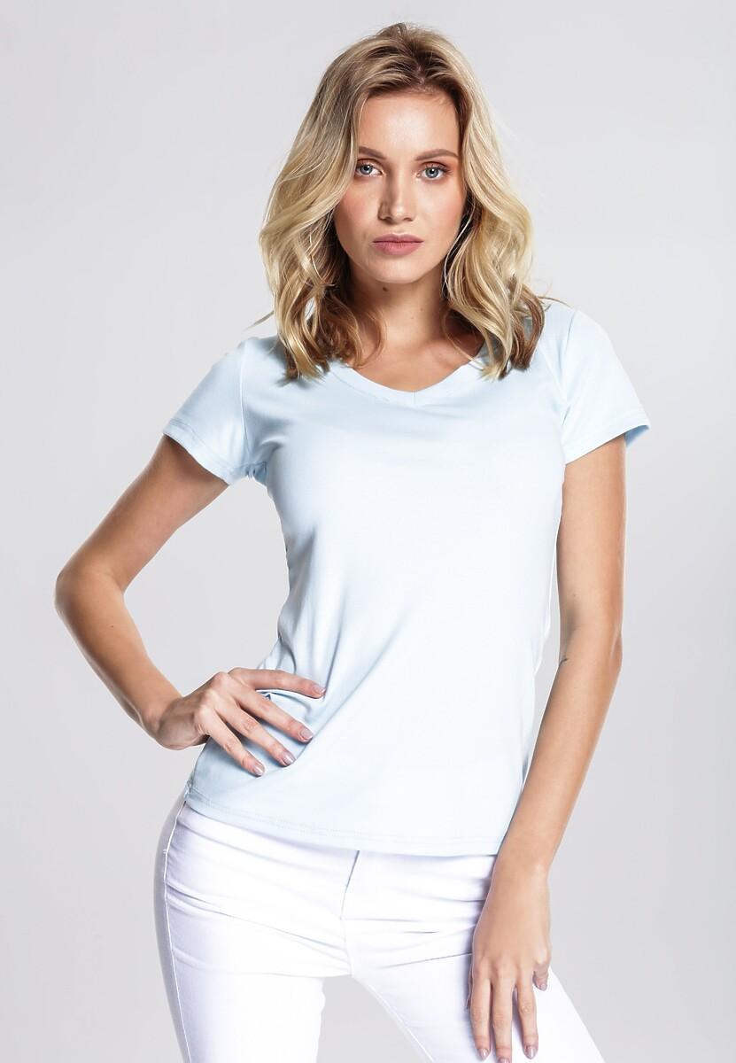 Jasnoniebieski T-shirt Glaringly