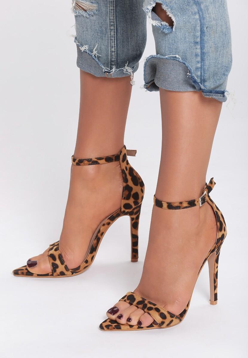 Panterkowe Sandały Cause