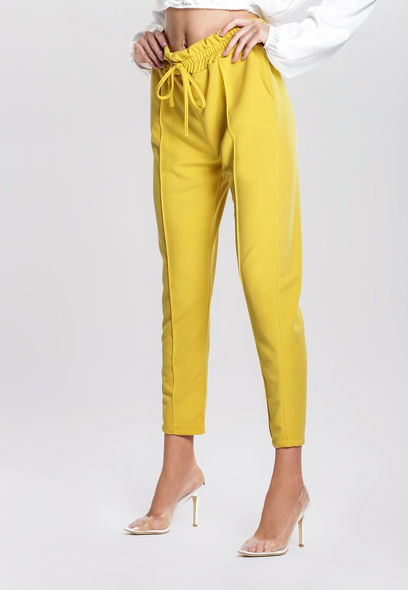 Żółte Spodnie Candle