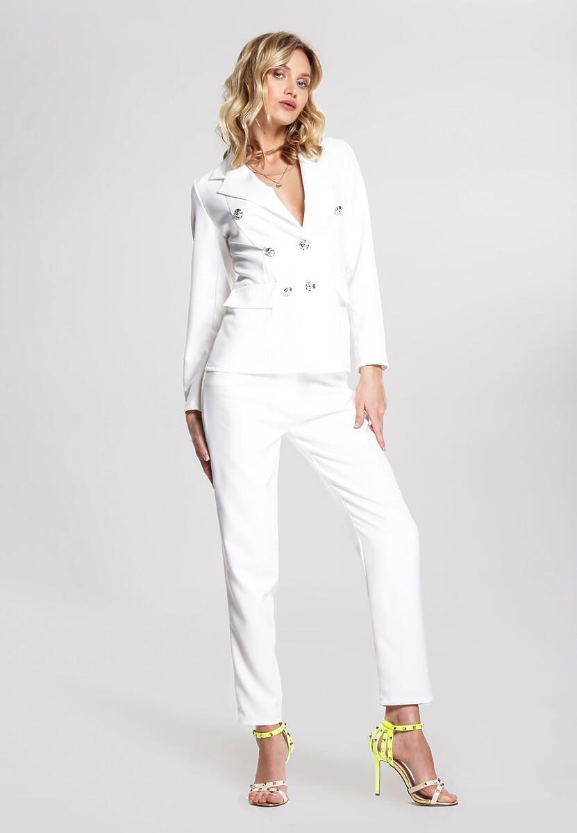 Biały Garnitur Elegance