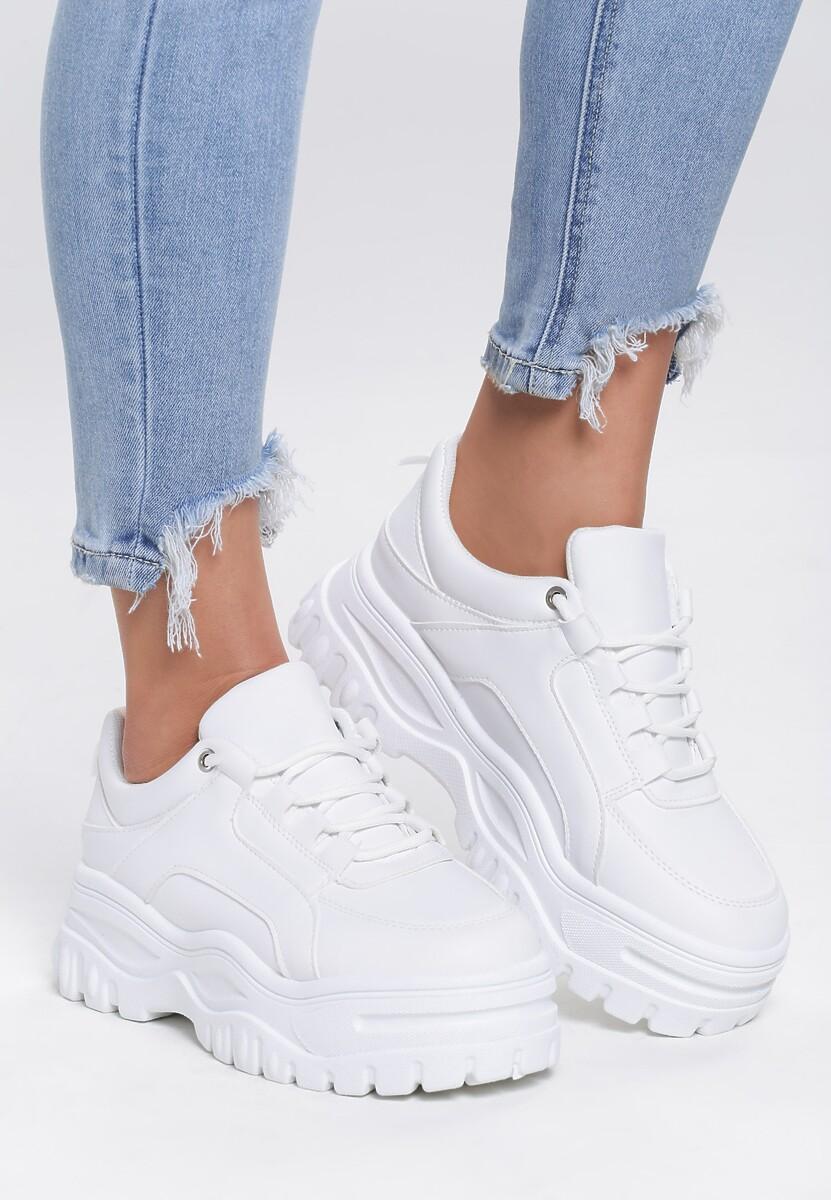Białe Sneakersy Rising