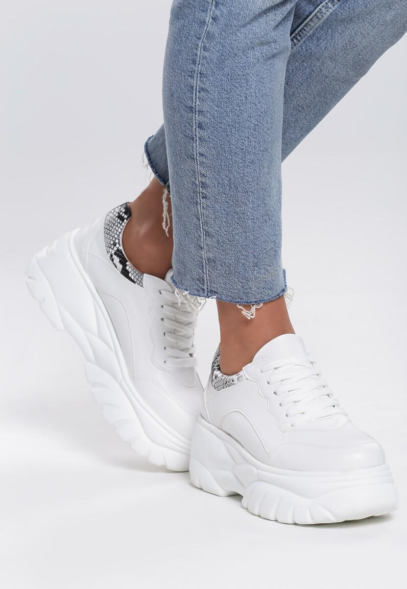 Białe Sneakersy Newbie