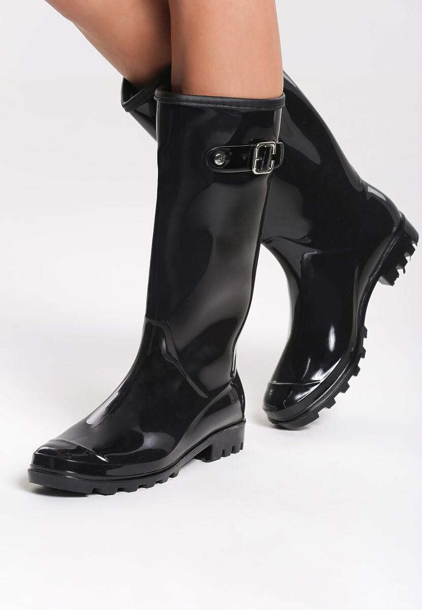 Czarne Kalosze Heavy Rain