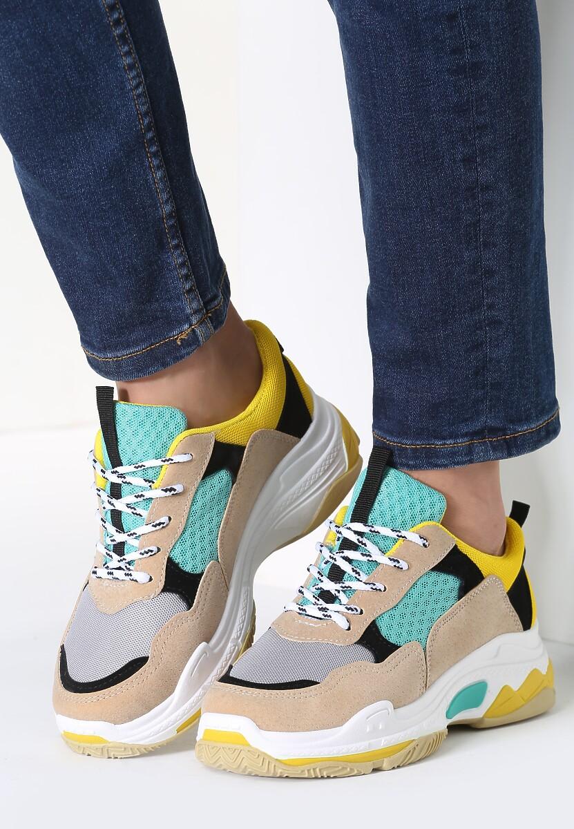 Beżowe Sneakersy Not Afraid