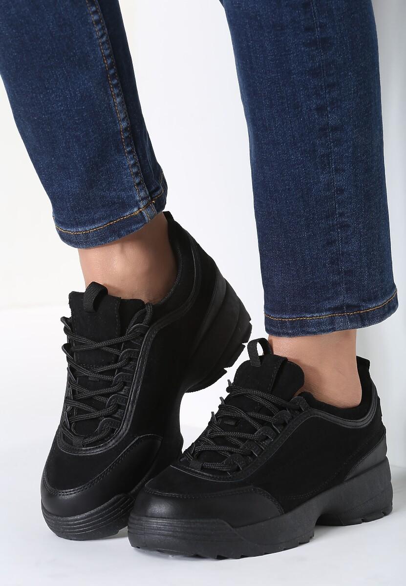 Czarne Sneakersy Nothing Else