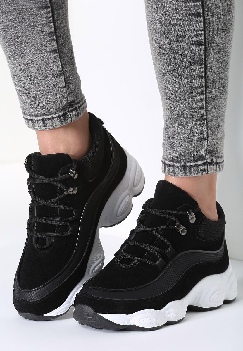 Czarne Sneakersy My Beat