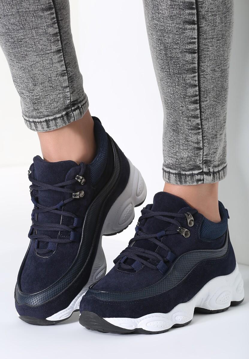 Granatowe Sneakersy My Beat