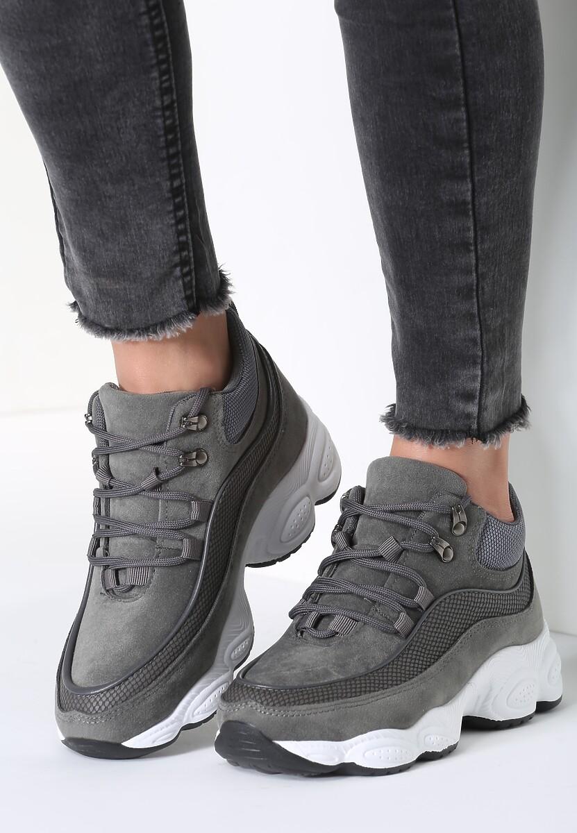 Szare Sneakersy My Beat