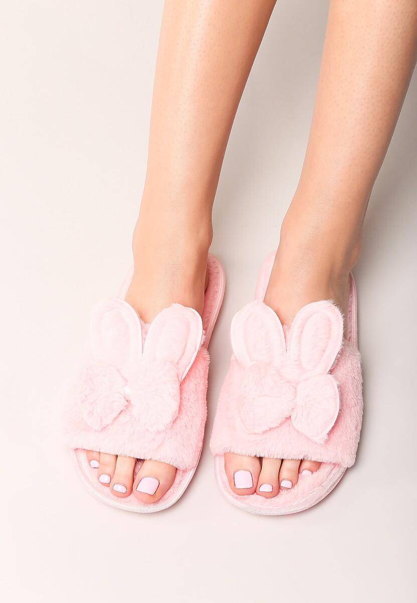 Różowe Klapki My Bunny