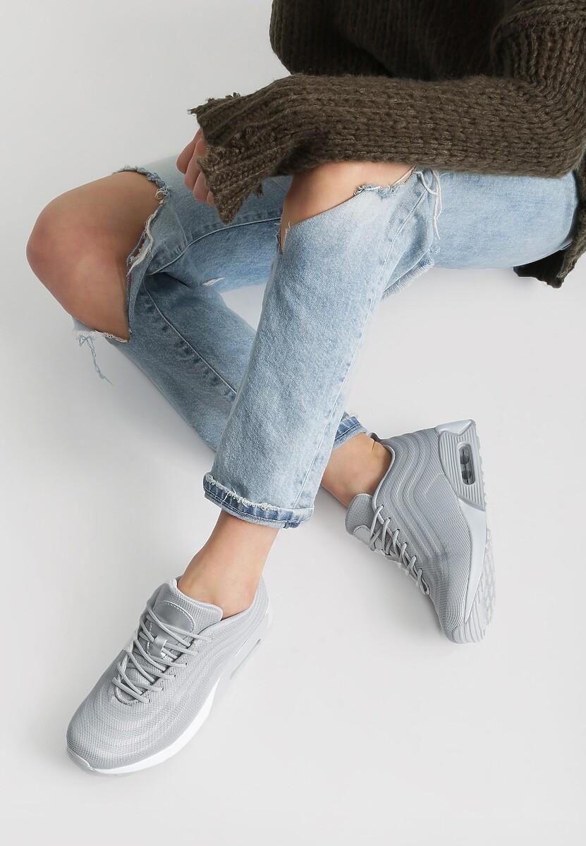 Szare Buty Sportowe Maximize