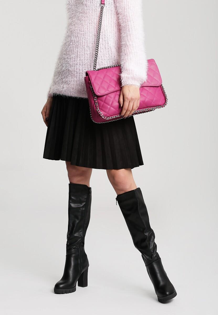 Czarne Kozaki Rock Girl