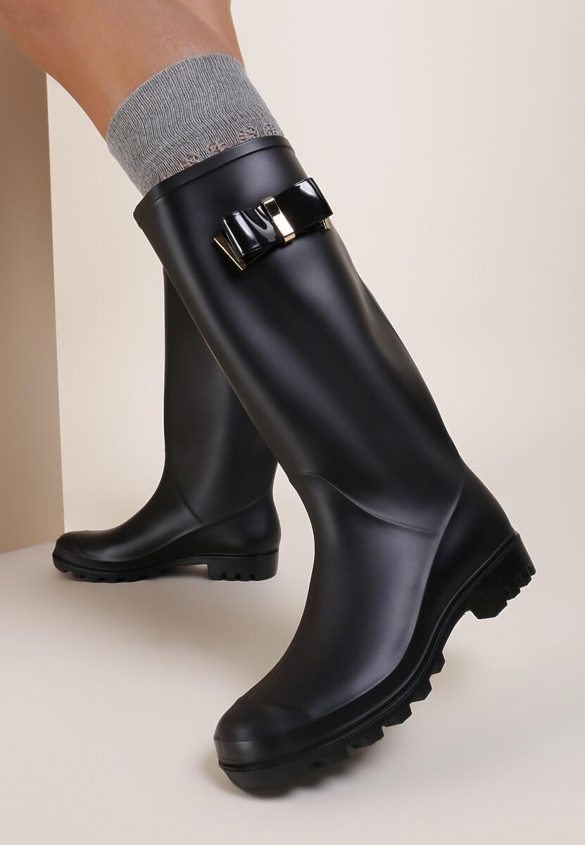 Czarne Kalosze Raining Men