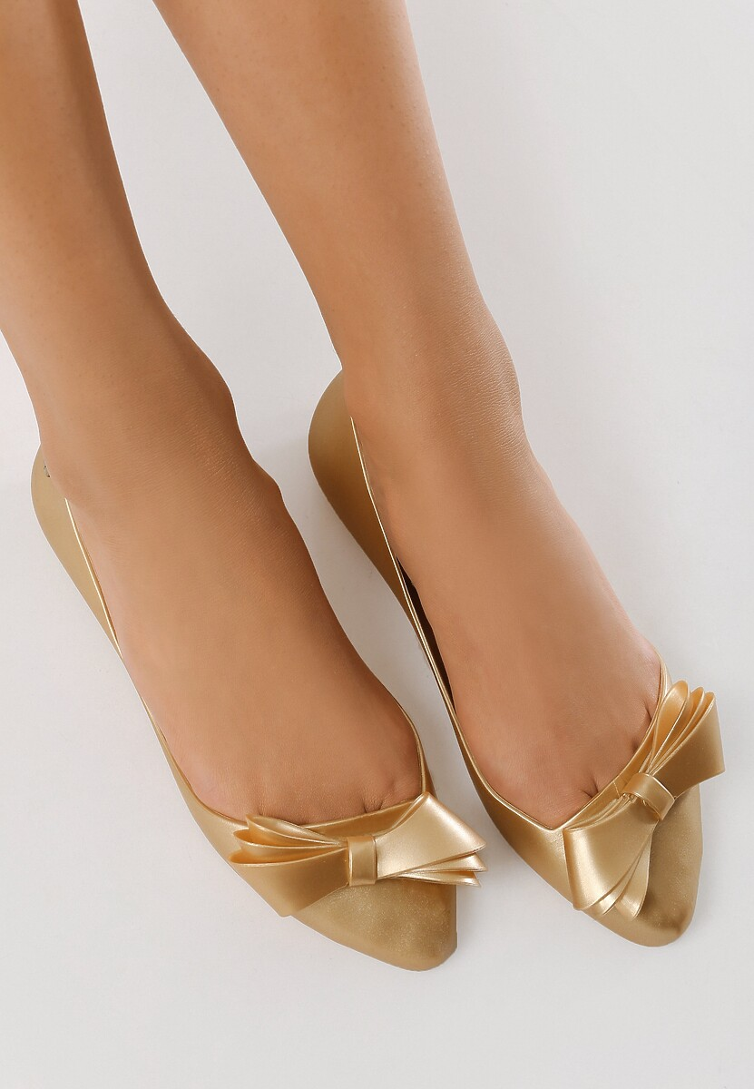 Złote Baleriny Footloose