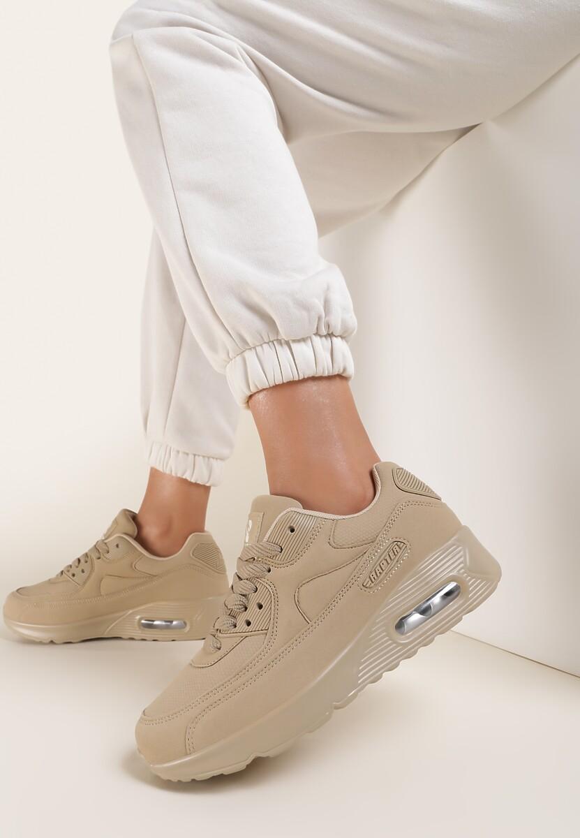 Beżowe Buty Sportowe Targetes
