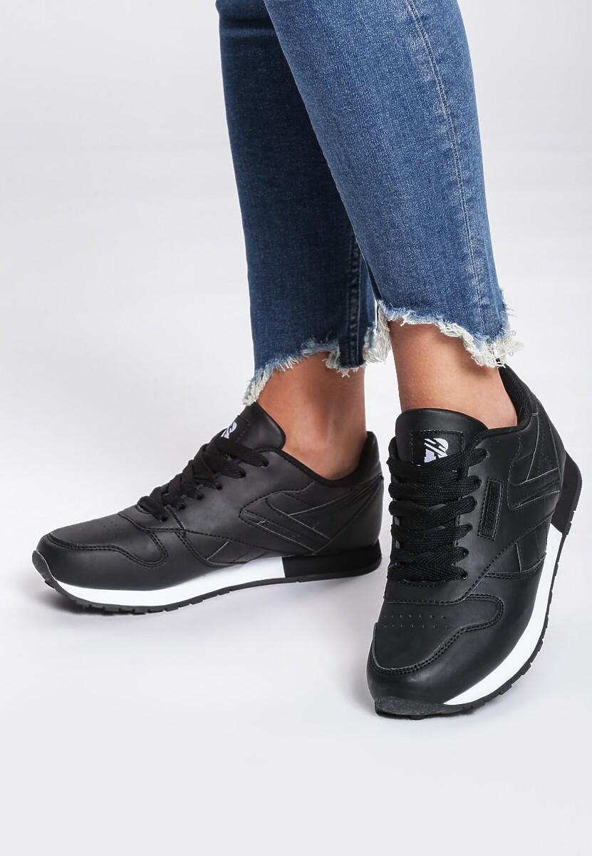 Czarne Buty Sportowe Gemini