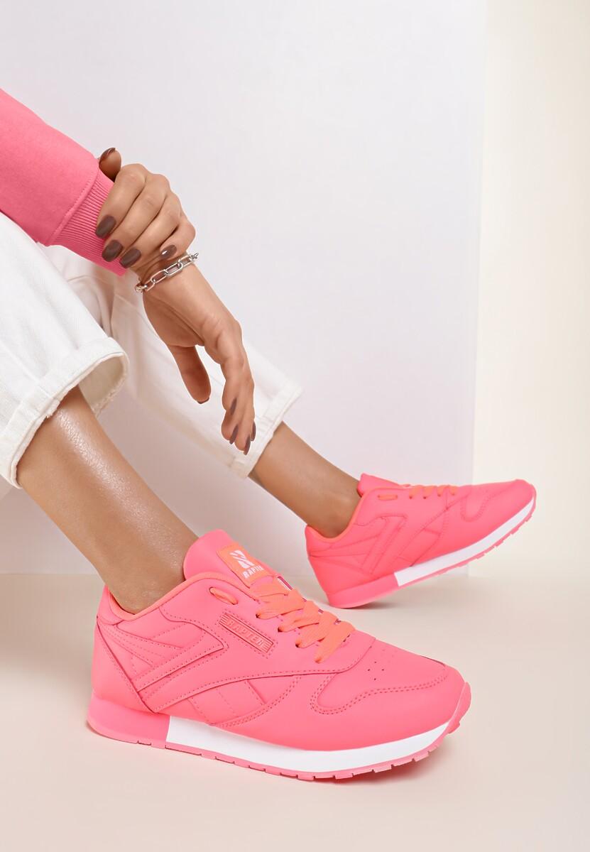 Fuksjowe Neonowe Buty Sportowe Gemini