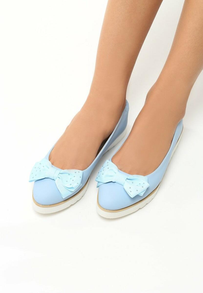Niebieskie Baleriny Cat's Claw