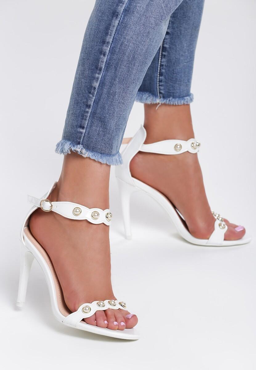 Białe Sandały Limerence