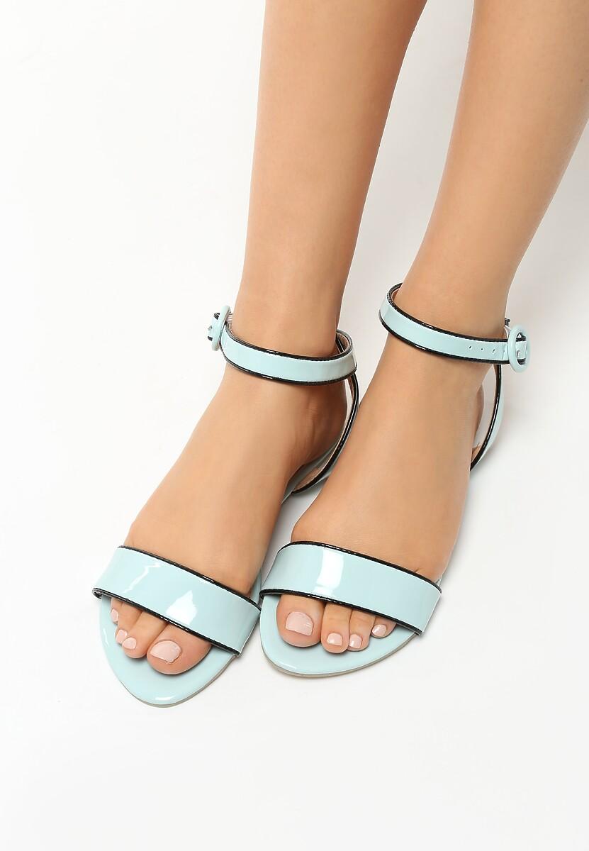 Niebieskie Sandały Upbeat