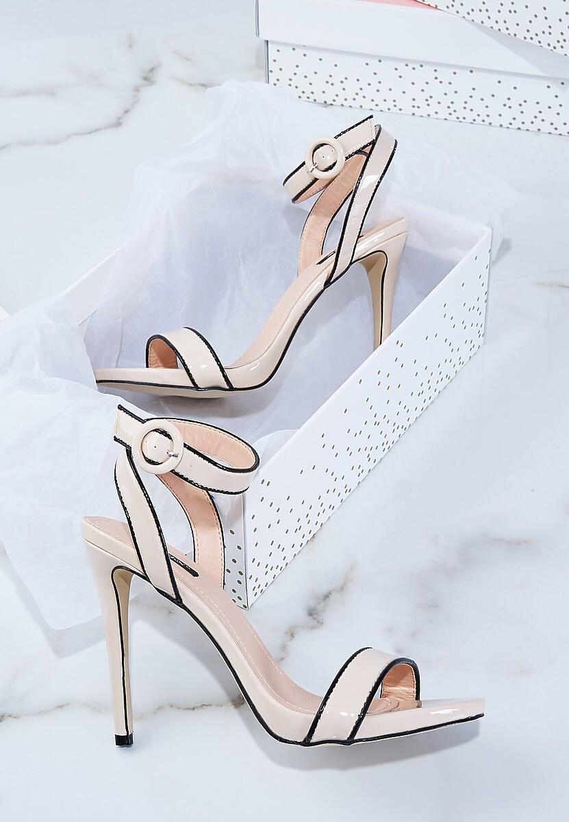 Beżowe Sandały Stunned