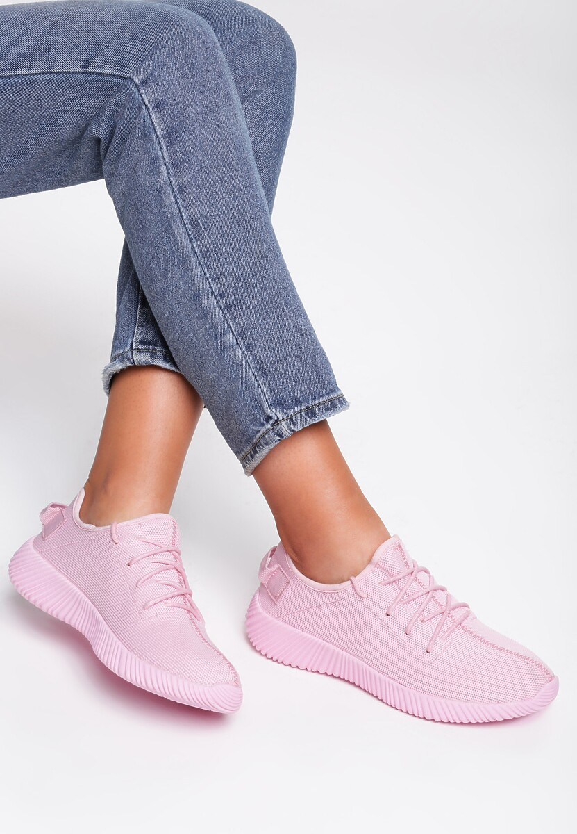 Różowe Buty Sportowe Smell Of Earth