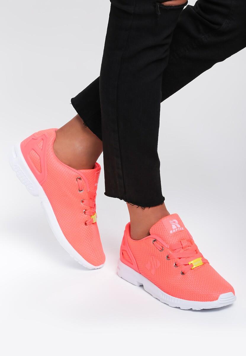 Pomarańczowe Neonowe Buty Sportowe Gracefull Ed