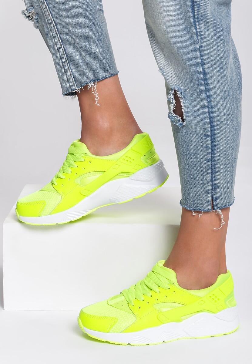 Limonkowe Buty Sportowe Flexible