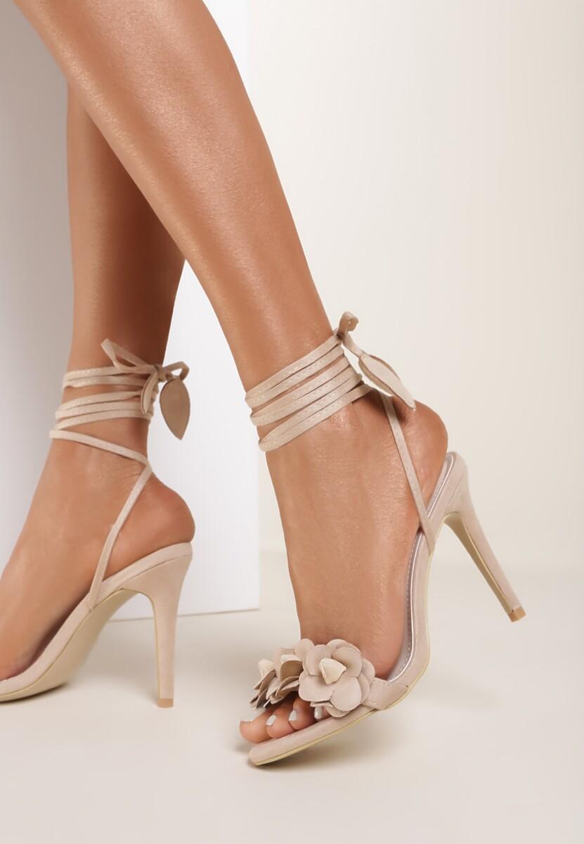 Beżowe Sandały Boteh