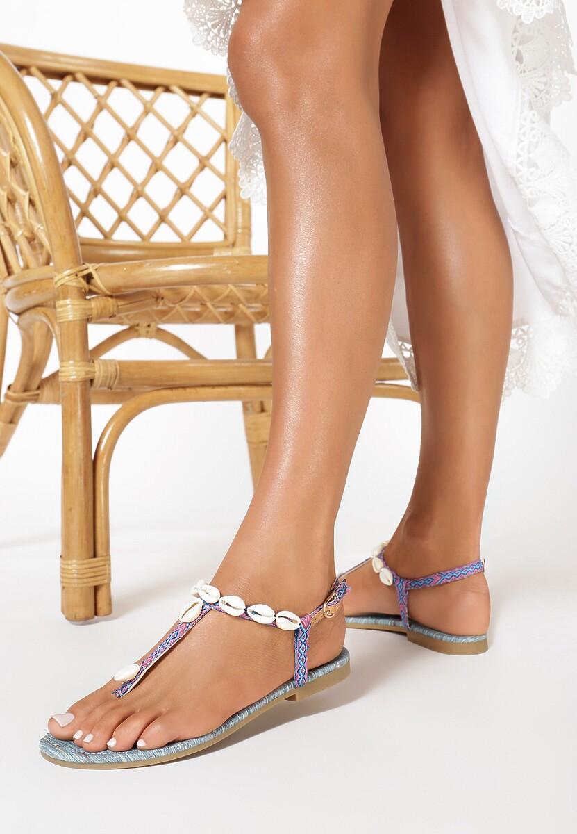 Niebieskie Sandały Little Seashell