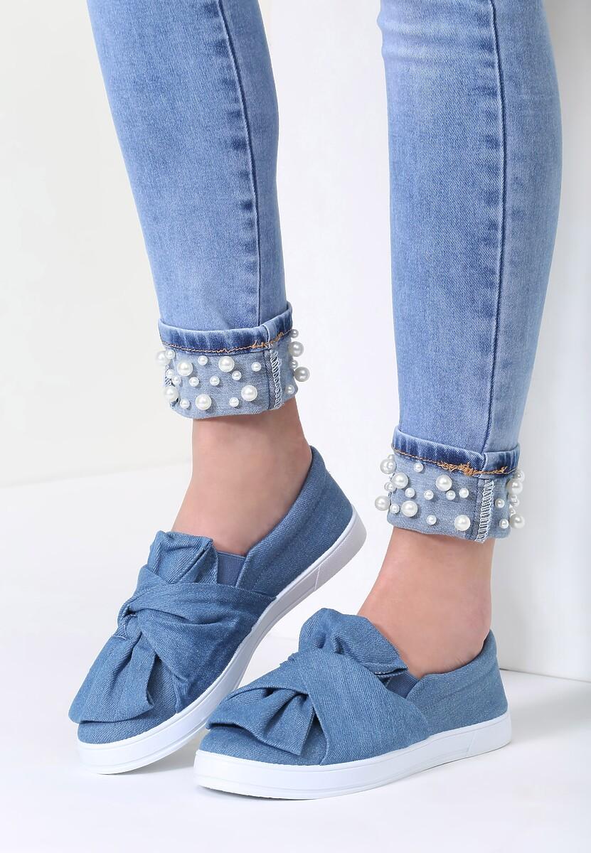 Niebieskie Slip On Wendy