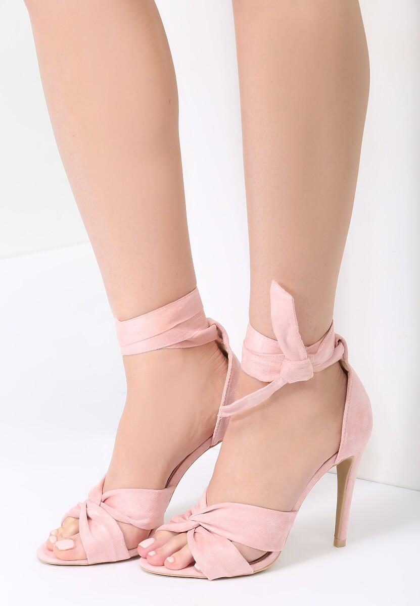 Różowe Sandały Speak To Man