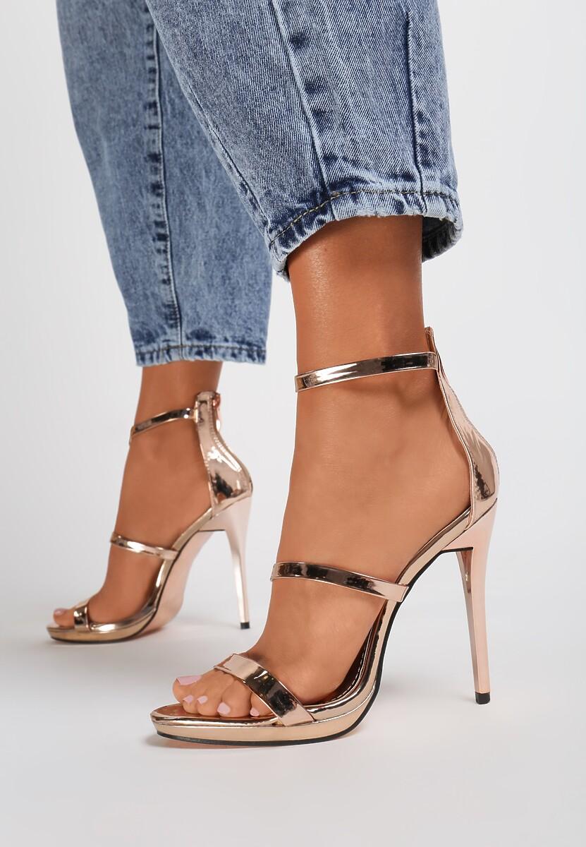Szampańskie Sandały Tattersall
