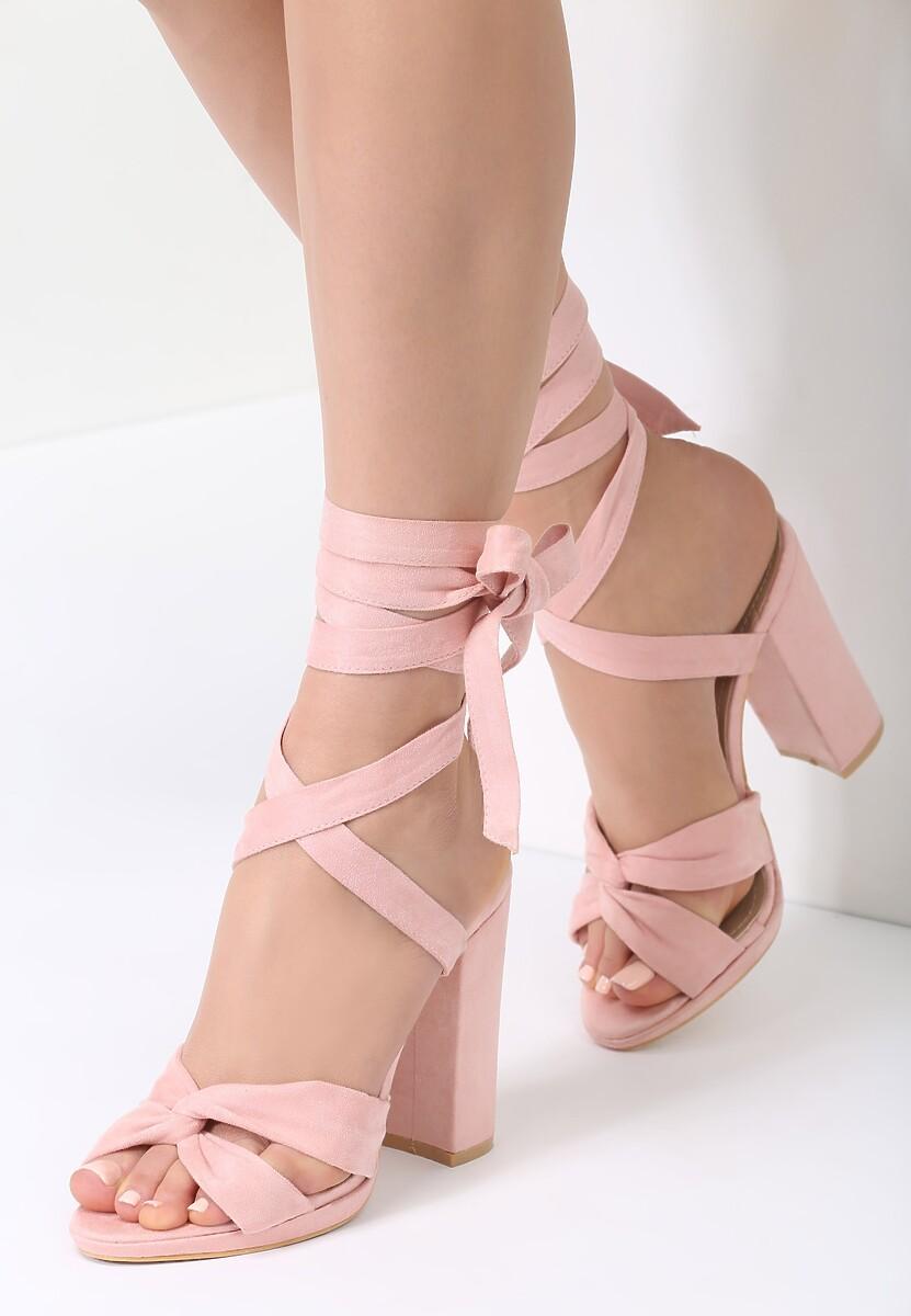 Różowe Sandały Some Up