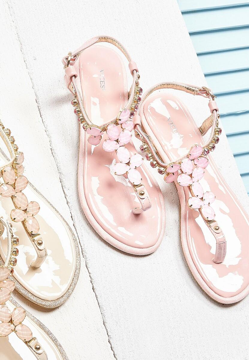 Różowe Sandały Gamming Room