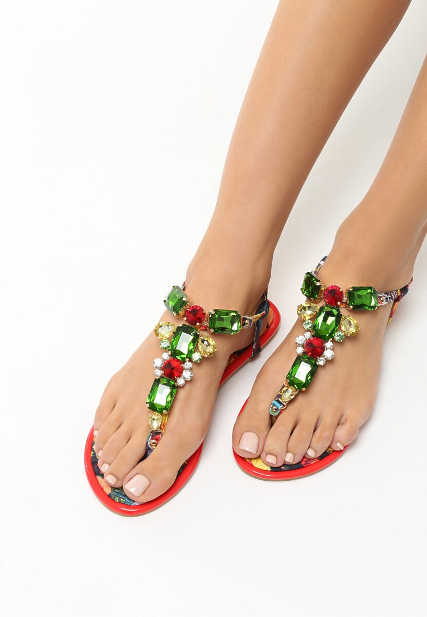 Czerwone Sandały Vanee
