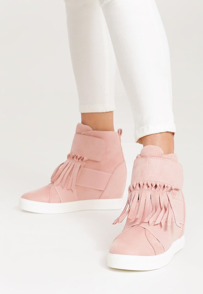 Różowe Sneakersy Scarlett