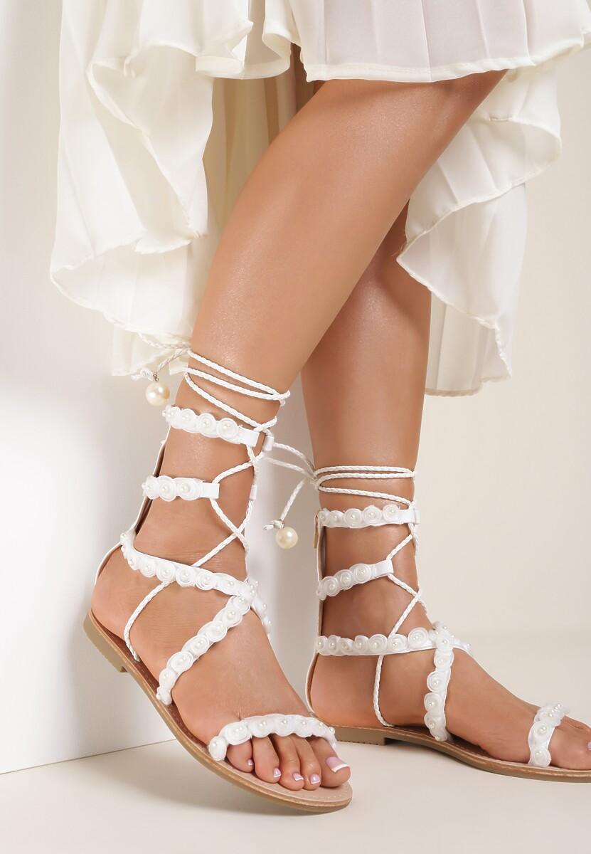 Białe Sandały Passionate Move