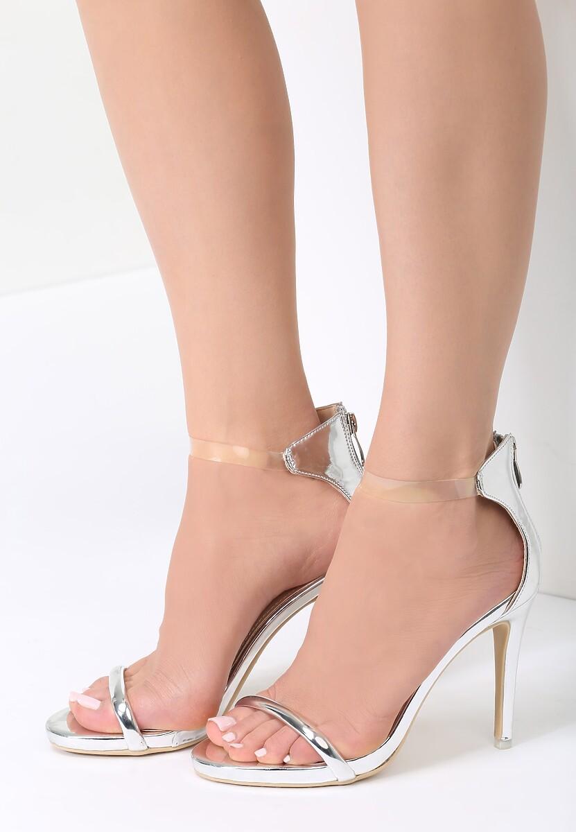 Srebrne Sandały Ad Hoc