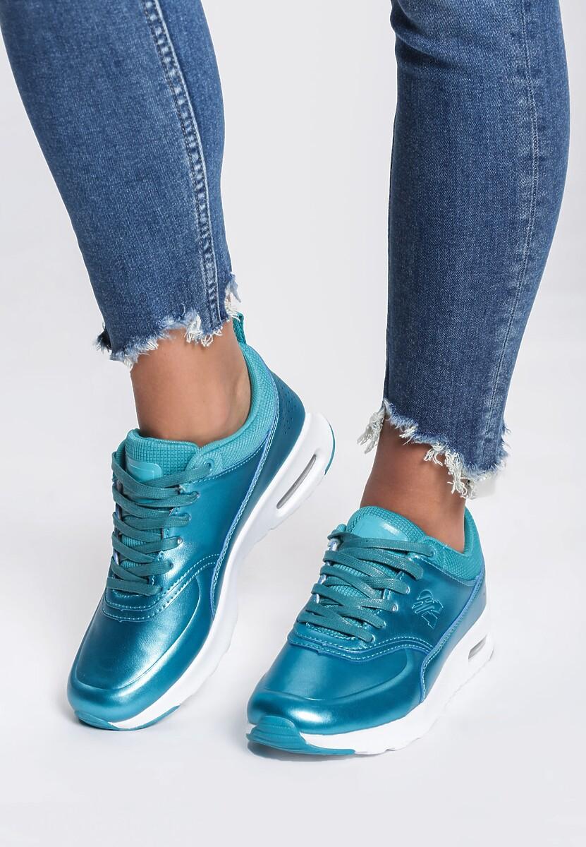 Niebieskie Buty Sportowe Deep Affection