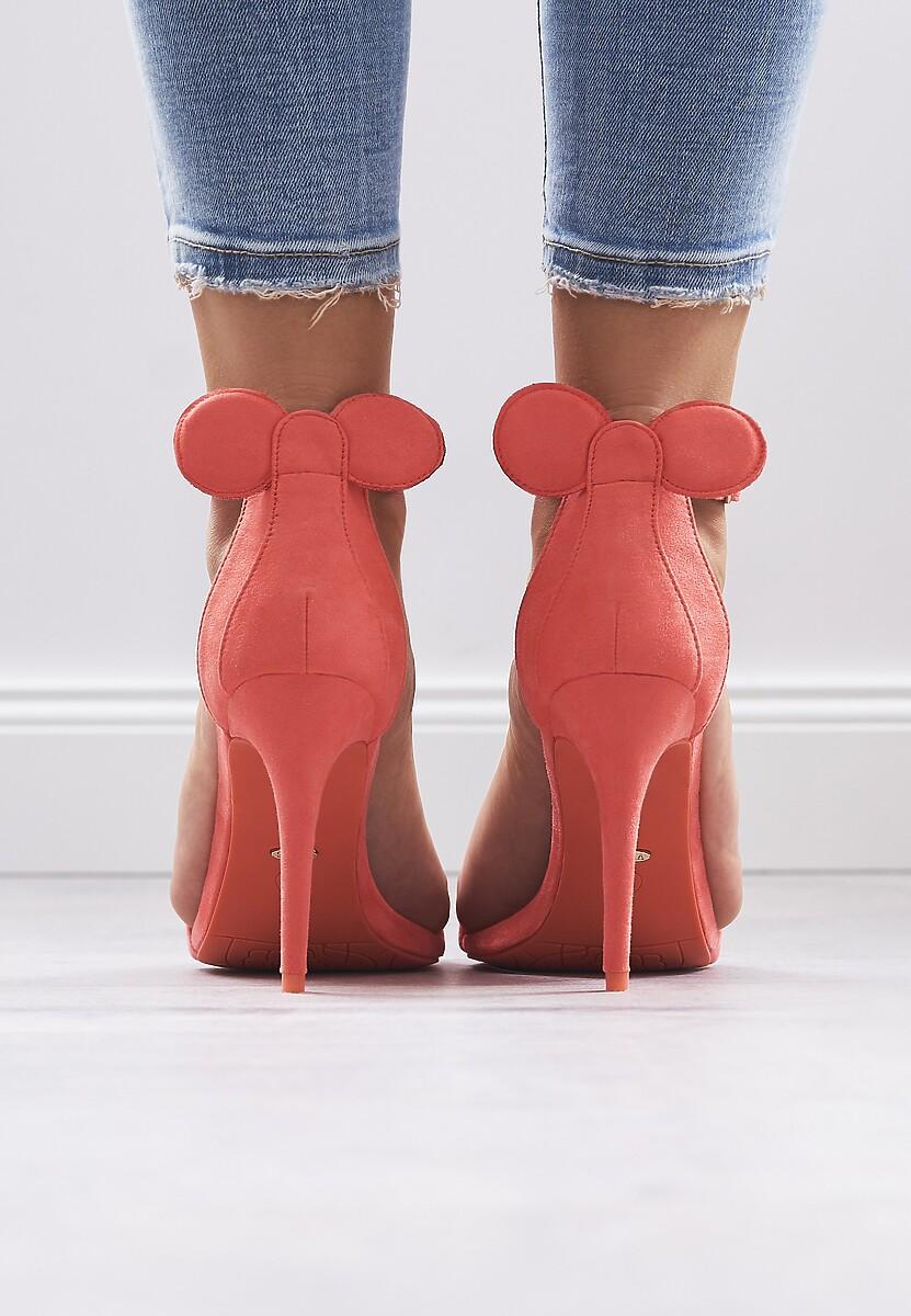 Pomarańczowe Sandały Crazy Mouse