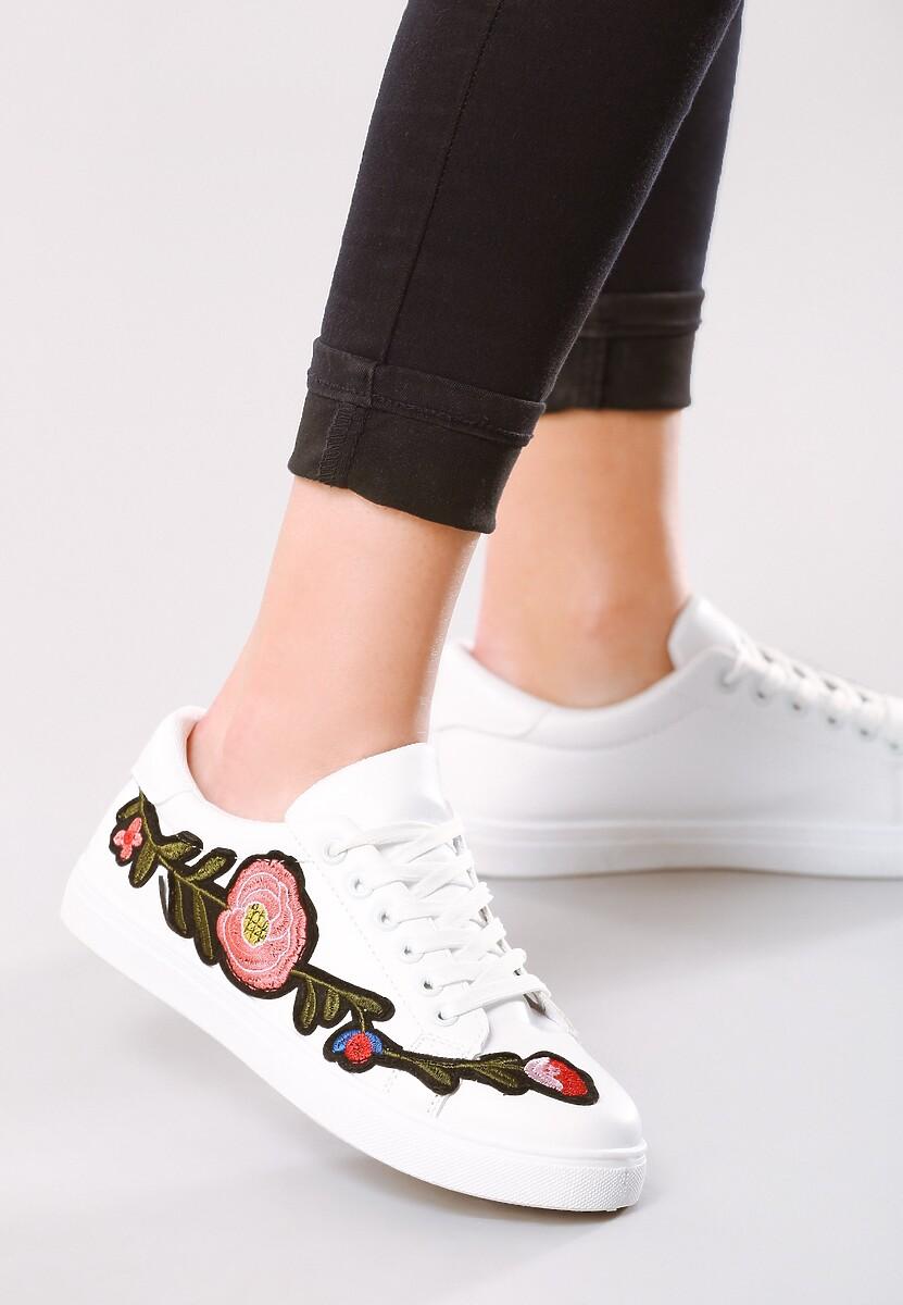 Białe Buty Sportowe Just Like Dance