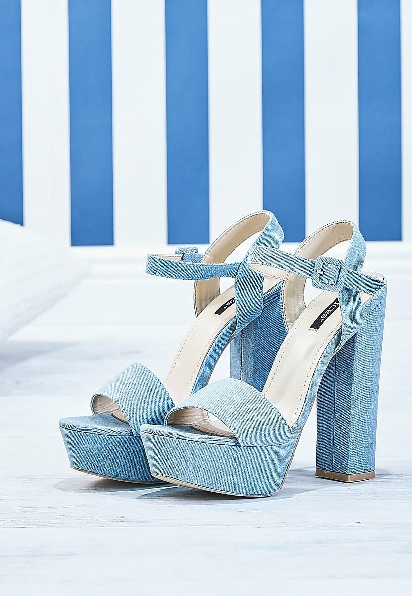 Niebieskie Sandały How We Do