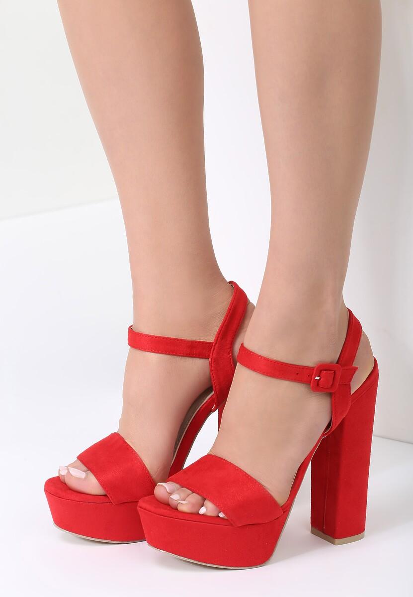 Czerwone Sandały Like You Do